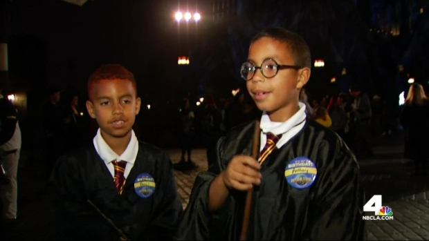[LA] Wizarding World of Harry Potter Opens