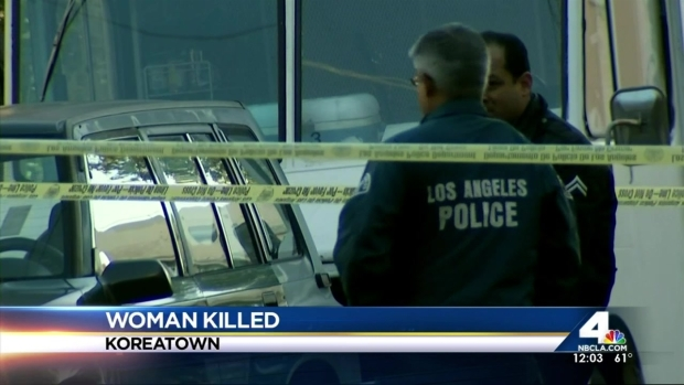 [LA] Woman Killed, Man Wounded in Koreatown Shooting