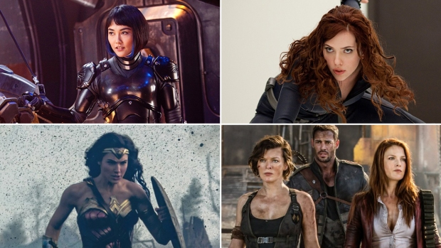 The Fiercest Action Heroines to Grace the Big Screen