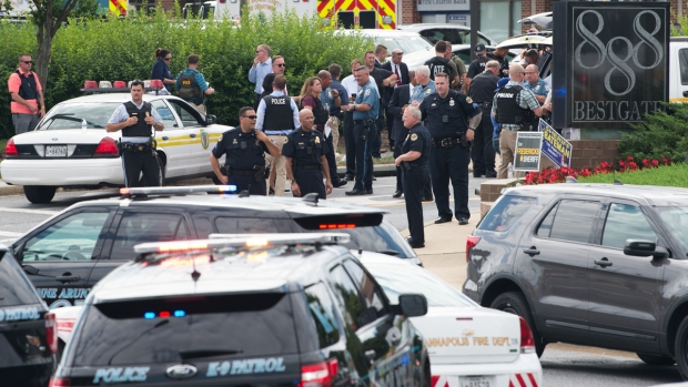 In Photos: Annapolis Newsroom Shooting Leaves Multiple Dead