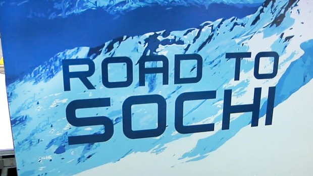 [NATL] Behind The Scenes at The Road to Sochi Celebration in Time Square