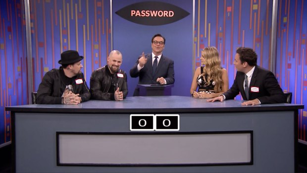 [NATL] 'Tonight Show' Password With Blake Lively and Good Charlotte