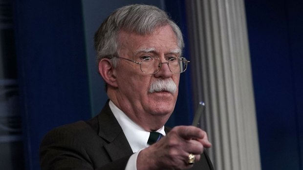 [NATL] Bolton: 'What Do You Think I'll Learn' From Khashoggi Tape?
