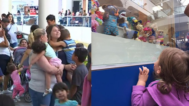 Build-a-Bear's 'Pay Your Age Day' Frenzy Had Lines Wrapping Around Stores