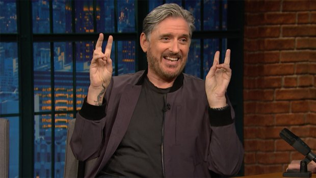 [NATL] 'Late Night': Craig Ferguson's Naked Commute to Work