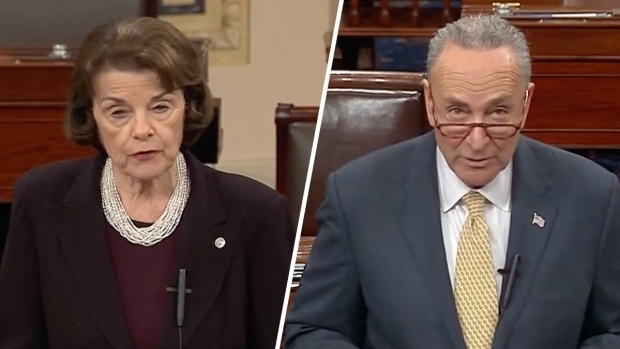 [NATL] Feinstein, Schumer Argue Against Kavanaugh Nomination