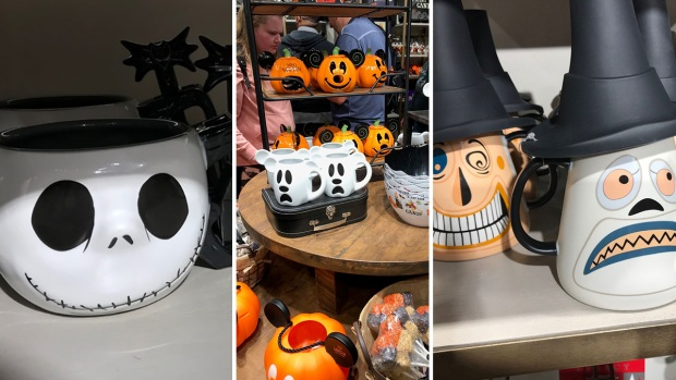 [la gallery copy] Spooky-Chic: Disney Home Decor Store Now Has Halloween Options