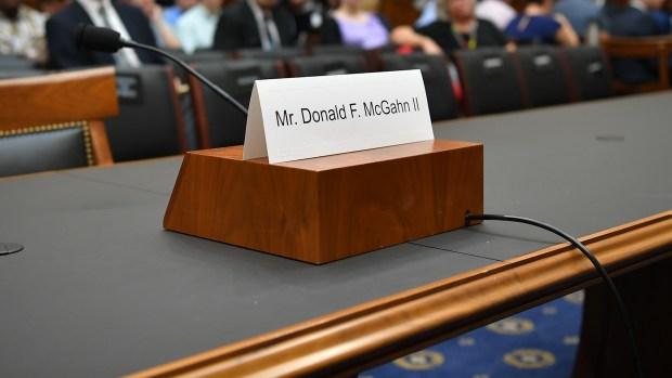 [NATL] McGahn Is No-Show at Congressional Hearing