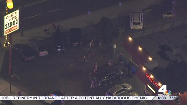 [LA] Authorities Collect Evidence as Investigation of Carjacking Pursuit Continues
