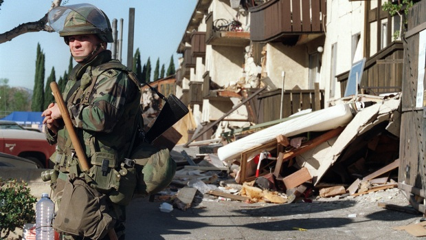 Northridge Earthquake: Days Following the Destruction