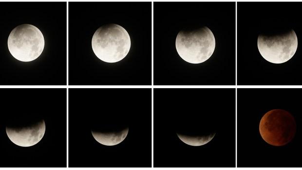 [NATL] Blood Moon Lights Up the Sky