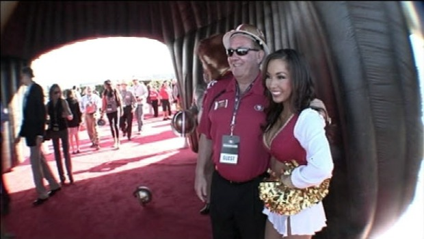 Images from the 49er's Stadium Groundbreaking