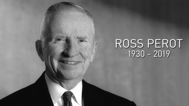 Iconic Texan Ross Perot Remembered Tuesday