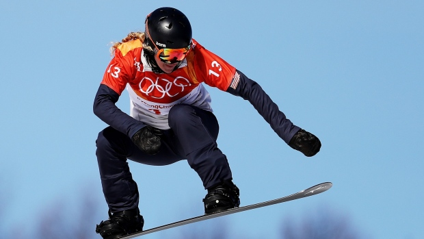 Lindsey Jacobellis Doesn't Medal in Snowboard Cross