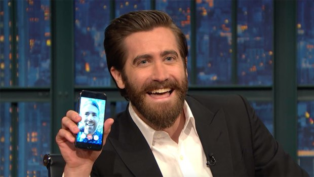 [NATL] 'Late Night': Jake Gyllenhaal and Ryan Reynolds FaceTime
