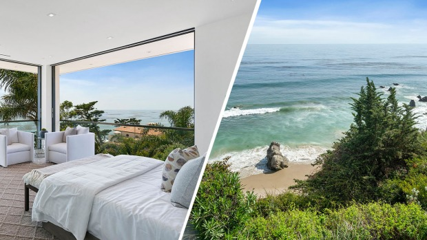 Stunning $18 Million Ocean Bluff Malibu Property is Back on the Market