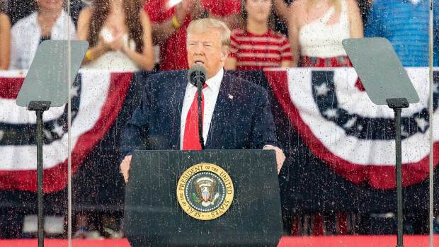 [NATL] Trump Calls for Country to 'Stay True to Our Cause' in July 4th Speech