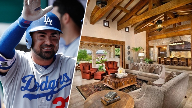 Offseason Move: Dodgers Slugger Adrian Gonzalez Snags Lavish $6.3M Estate
