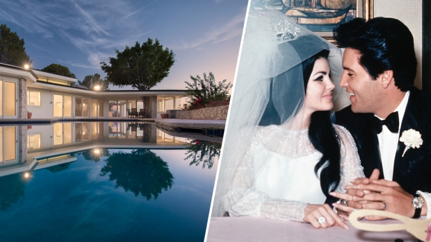 [NATL-LA]Fit for a King: Dreamy Beverly Hills Home Elvis and Priscilla Purchased as Newlyweds is for Sale