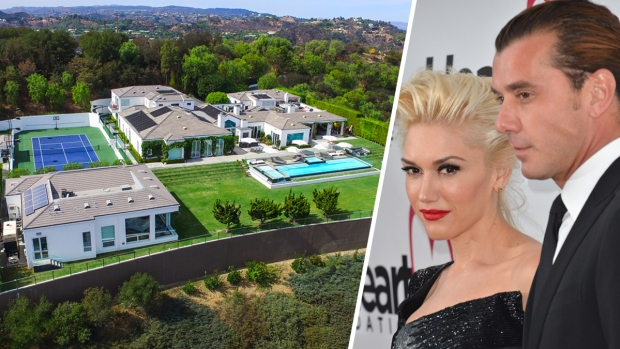 Gwen Stefani and Gavin Rossdale List Extravagant $35M Estate