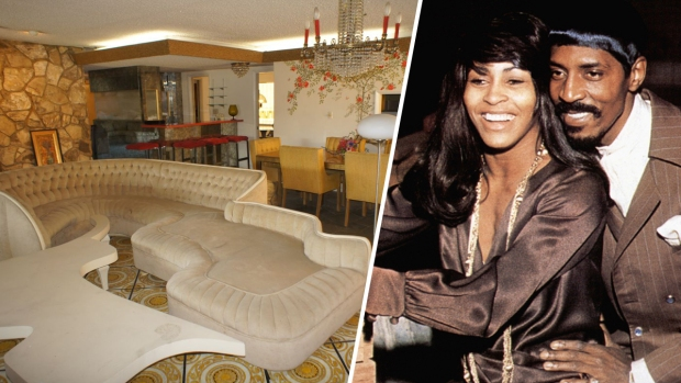 [NATL-LA]Ike and Tina Turner's Time Capsule Home in LA Sells at a Discount