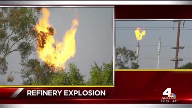 [NATL] Torrance Mayor Comments on Refinery Explosion