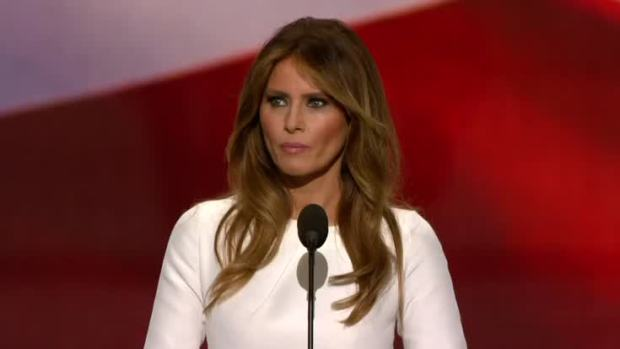 [NATL] Melania Trump Speaks at RNC 2016