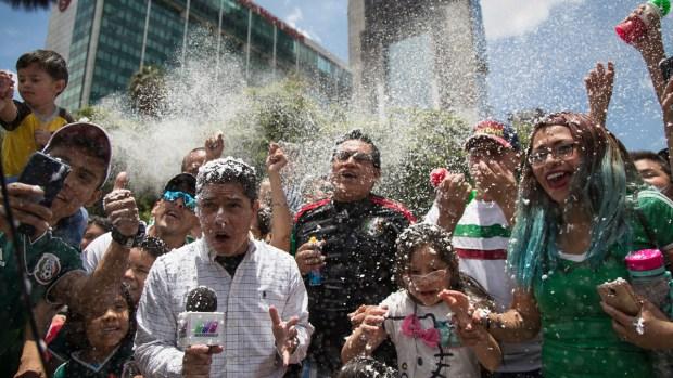 Top News Photos: Mexico Celebrates World Cup Upset