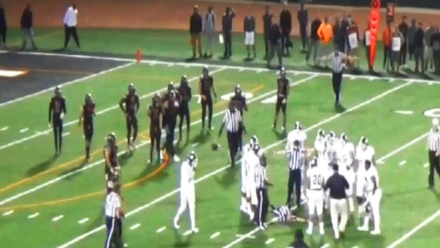[LA] SoCal Football Player Punches Ref in Face