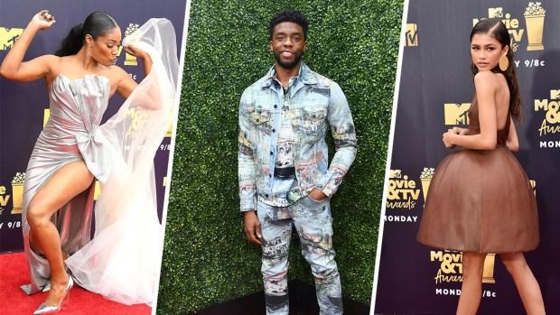 [NATL] Stars Shine at the 2018 MTV Awards