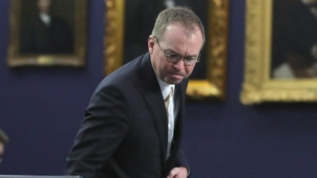 [NATL] Trump Names Mick Mulvaney Acting Chief of Staff