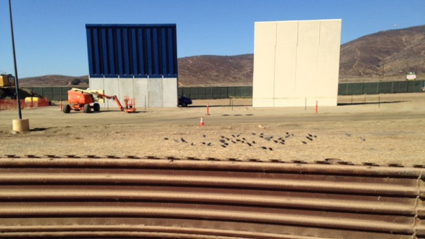 [NATL-LA] An Up-Close Look at the US-Mexico Border Wall Prototypes