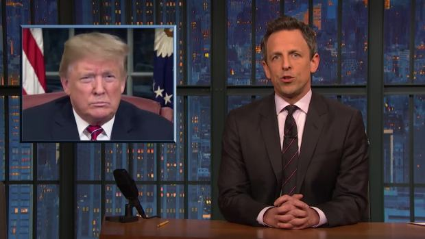[NATL] 'Late Night': A Closer Look at How Trump's Wall Has Changed