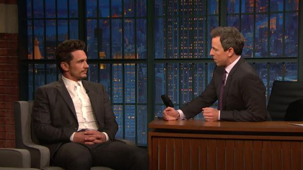 [NATL] 'Late Night': James Franco Addresses His Sexual Misconduct Allegations