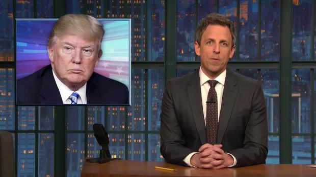 [NATL] 'Late Night': A Closer Look at Trump's Request for a Military Parade