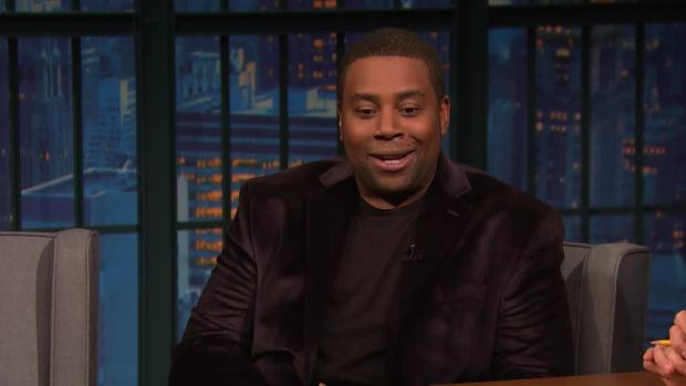 [NATL] 'Late Night': Kenan Thompson Recaps Kanye's Pro-Trump Speech