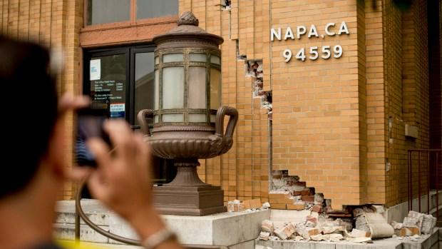 [BAY] Quakes, Aftershocks Strike South Napa Region