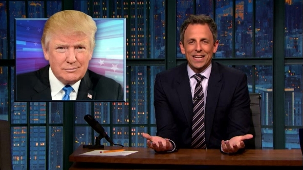 [NATL] 'Late Night': A Closer Look at Clinton 'Scandals' vs. Donald Trump Pay to Play