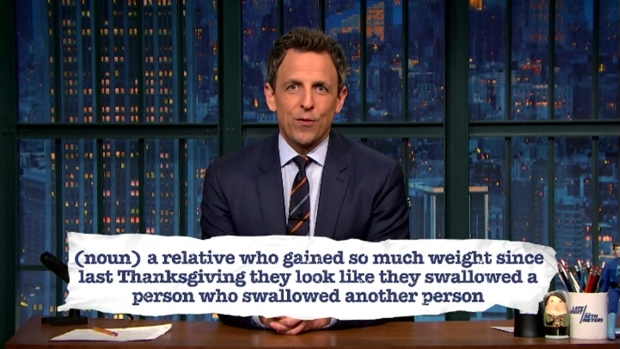 [NATL] 'Late Night': Seth Meyers Explains Teen Slang