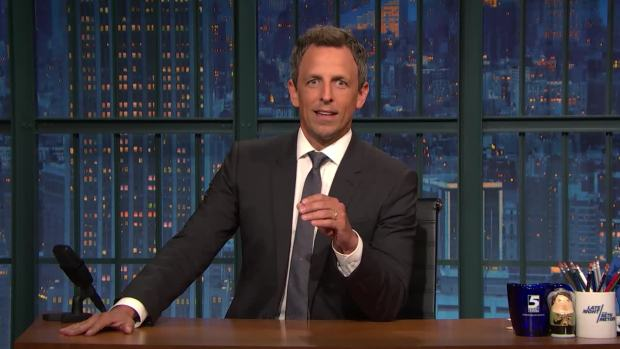 Late Night: Seth Meyers Gets Real With Hillary Clinton About Her Book