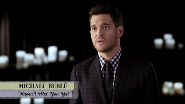 [NATL] 'Tonight Show': Behind the Lyrics With John Legend, Michael Buble