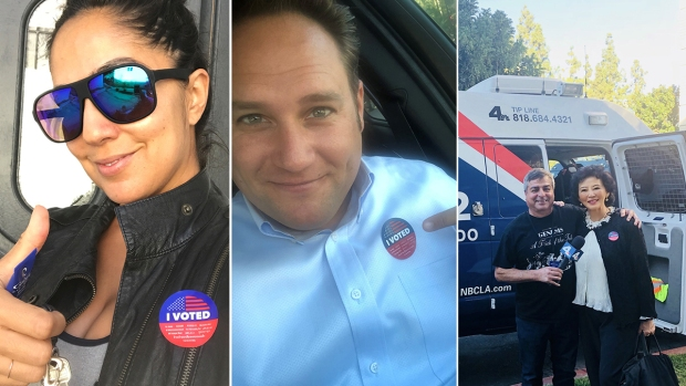 [LA GALLERY] 'I Voted': Show Us Your Election Day Selfies