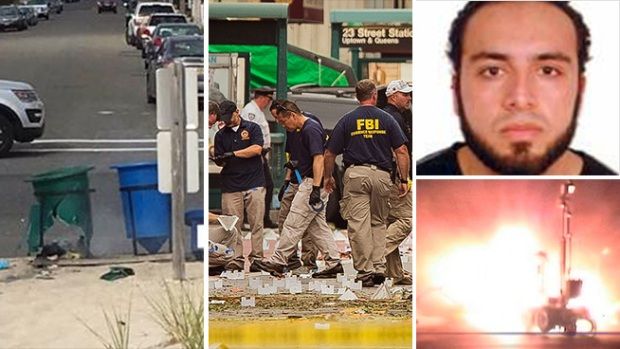 Bombs in New Jersey, New York Spark Manhunt