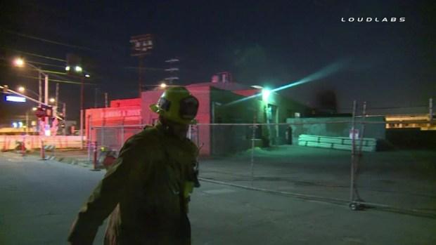[LA] Raw Video: 10K-Gallon Oil Spill in Atwater Village