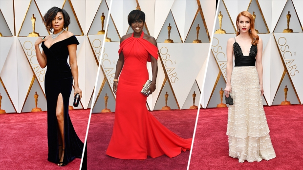 [NATL]Best Looks From the 2017 Oscars Red Carpet