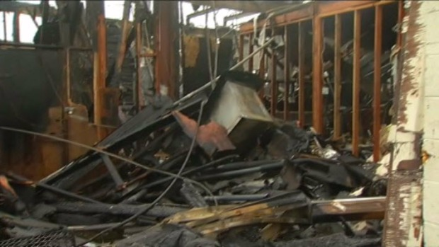 [BAY] Hot Spots Prevent Search of Former KNTV Studio Gutted by Fire