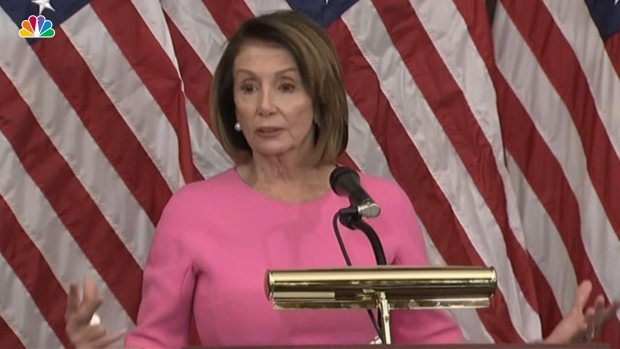 [NATL] Pelosi Says Dems, Trump Have Common Ground on Infrastructure