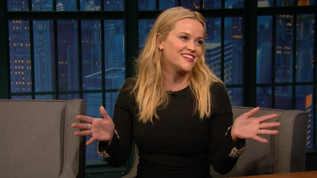 [NATL] 'Late Night': Reese Witherspoon on What It's Like to Hang Out with Oprah