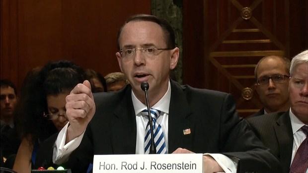 [NATL] Deputy AG: No Reason to Fire Mueller