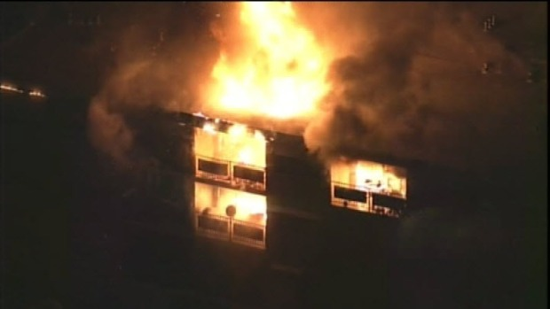 [BAY] Massive Fire Rips Through Redwood City Apartment Complex